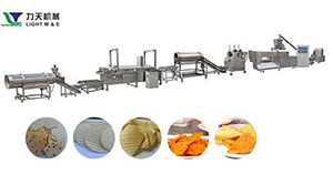 Frying Snack Extrusion Machinery